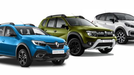 На все автомобили Renault -25%!