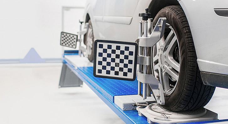 Сход-развал 3D на Renault по акции