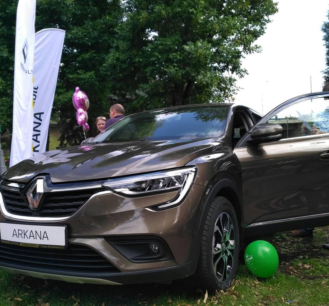 Презентация Renault Arkana на Дне города Твери