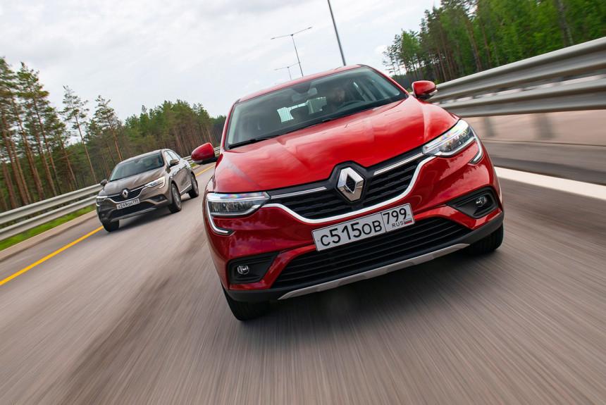 Арканавтика — Renault Arkana в теории и на практике