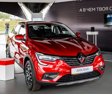 Renault Arkana признан «Автомобилем года» в номинации «Легкие внедорожники»