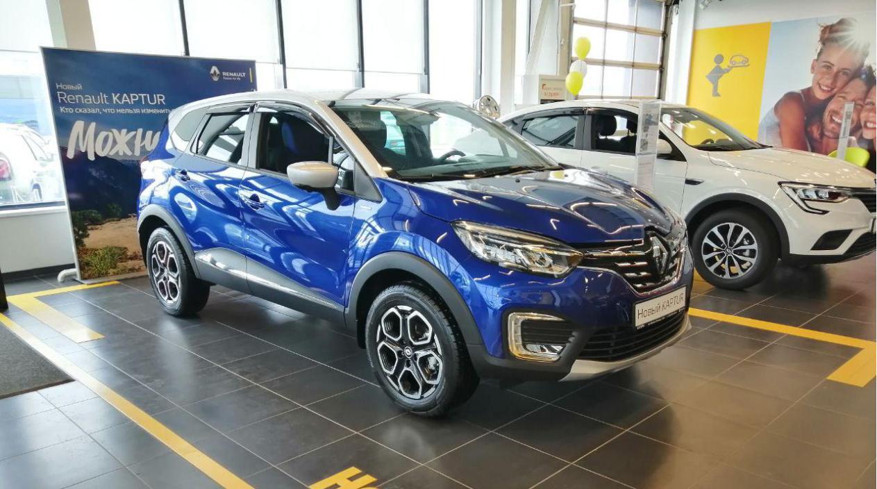 В августе горящие предложения на Renault KAPTUR