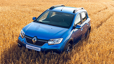 14 Renault Sandero Stepway с подарками при покупке!