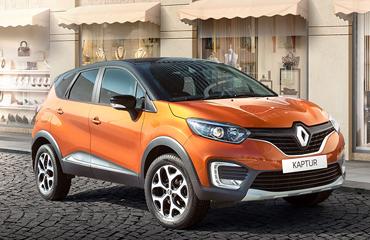 Выгода до 240 000₽ на Renault Kaptur
