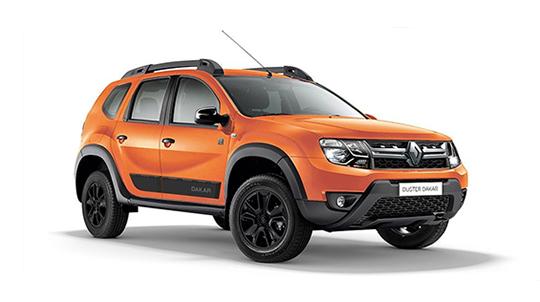 Renault Россия представила лимитированную серию DUSTER Dakar