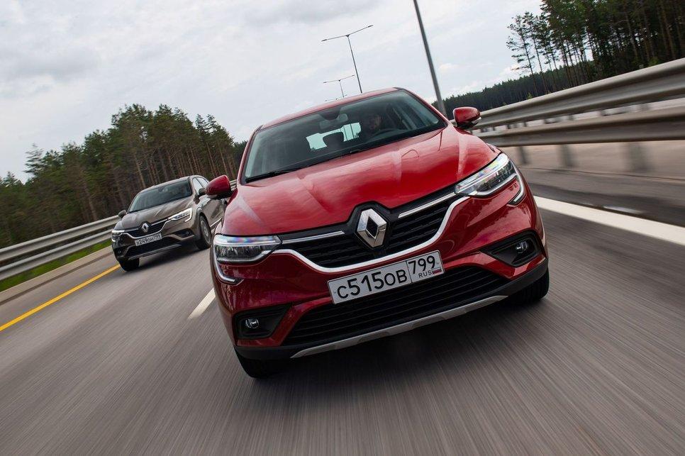 Renault Arkana — роды прошли успешно