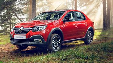 Выгода до 114 500 руб. на Renault LOGAN STEPWAY