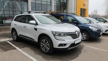 Renault KOLEOS в единственном экземпляре - в наличии!