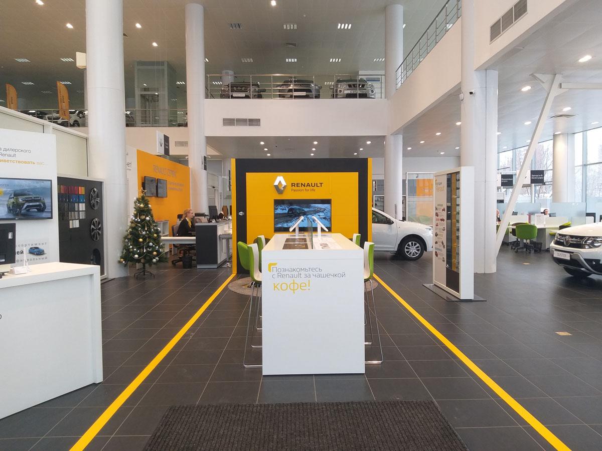 Официальный дилерский центр Renault Авторусь Подольск подводит итоги 2019 года