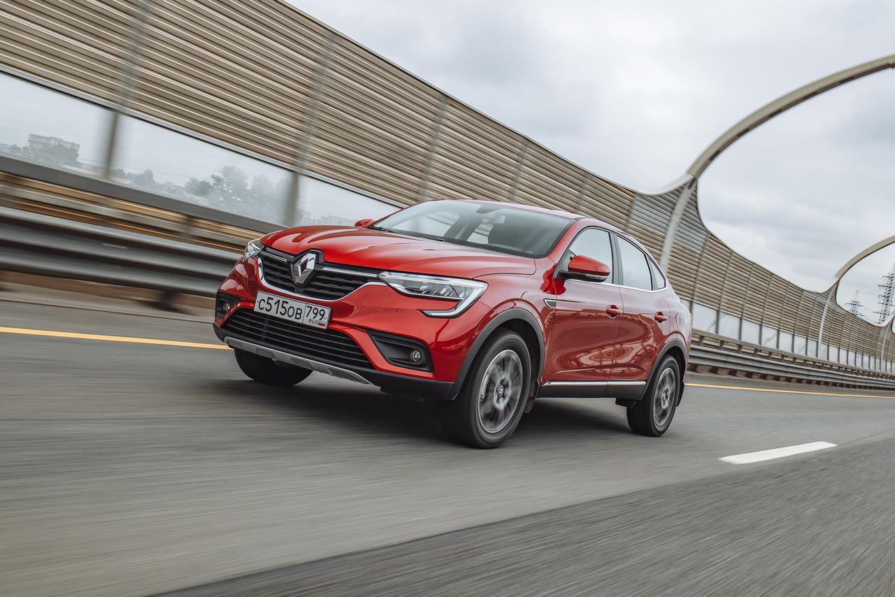 Первый тест Renault Arkana