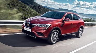 Renault начала экспорт нового купе-кроссовера Arkana в страны СНГ