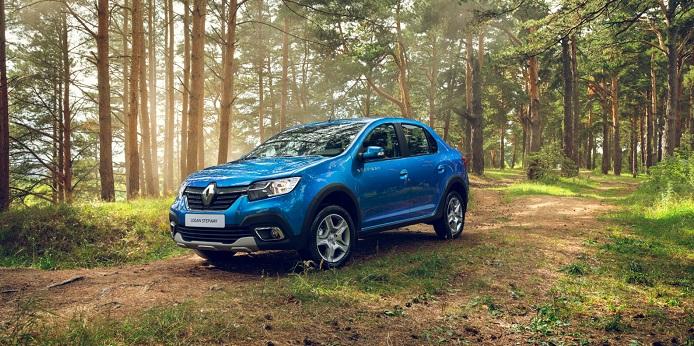 Новый Renault Logan Stepway на специальных условиях