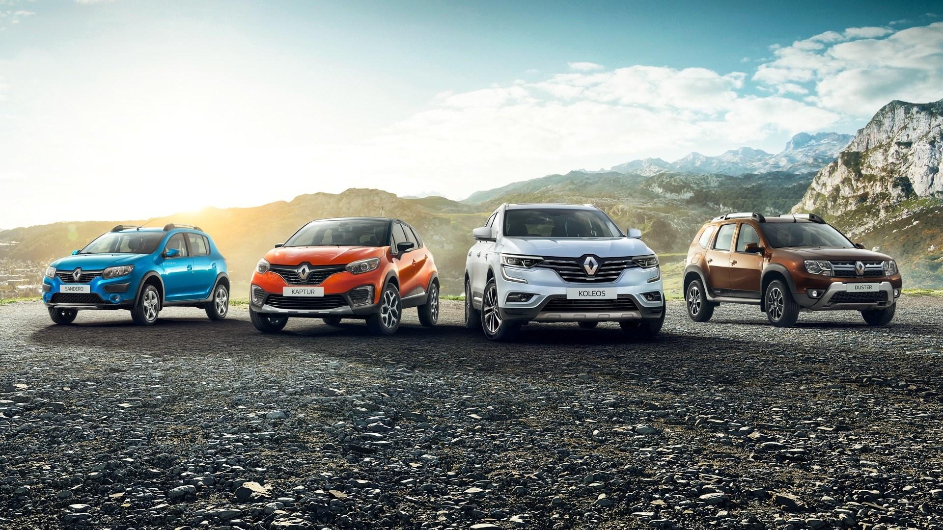 Выбери свой автомобиль Renault!