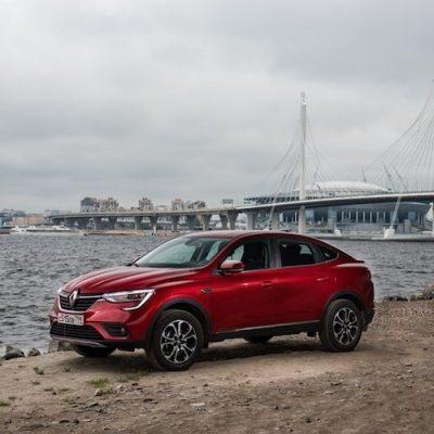 Гранд тур Renault Arkana 3 и 4 августа в Екатеринбурге в МЕГЕ