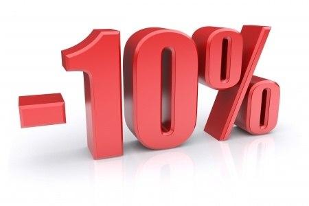 СКИДКА 10% НА СЕРВИС
