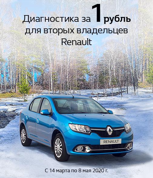 Стали вторым владельцем Renault?