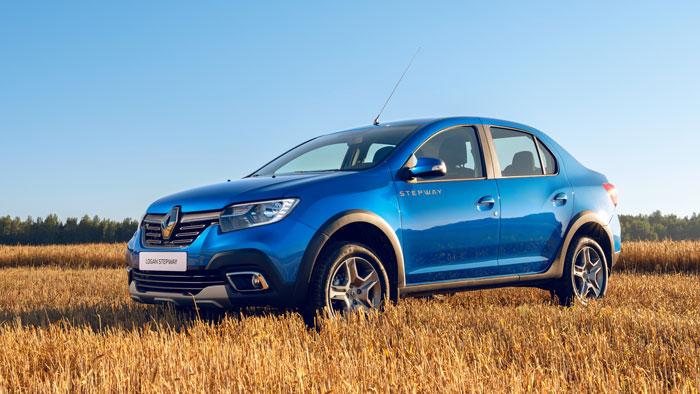 Renault LOGAN Stepway с выгодой