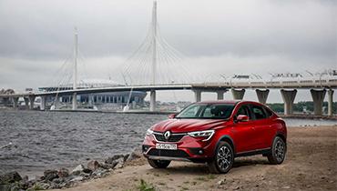 Выгода до 217 000 рублей на Renault ARKANA