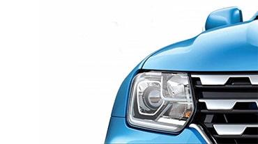 Новый Renault Duster показали на тизерном изображении