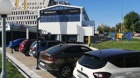 Изменение подъезда к дилерскому центру на проспекте Салавата Юлаева, 41